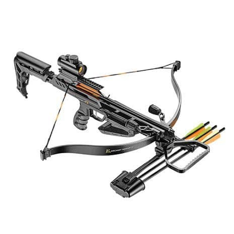 EK Archery Jaguar 2 Pro Deluxe 175lb Crossbow - Black