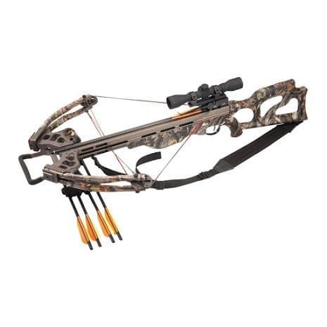 EK Archery Titan 200lb Compound Crossbow Kit - Camo
