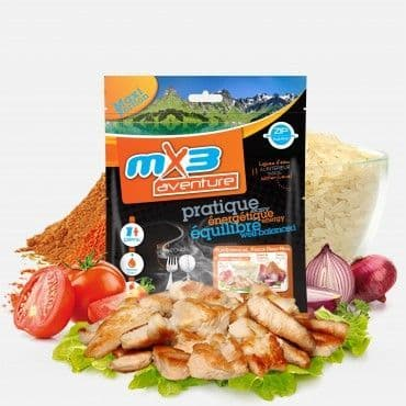 Freeze Dried Chicken Soup Sachet MRE Ration Meal Pouch