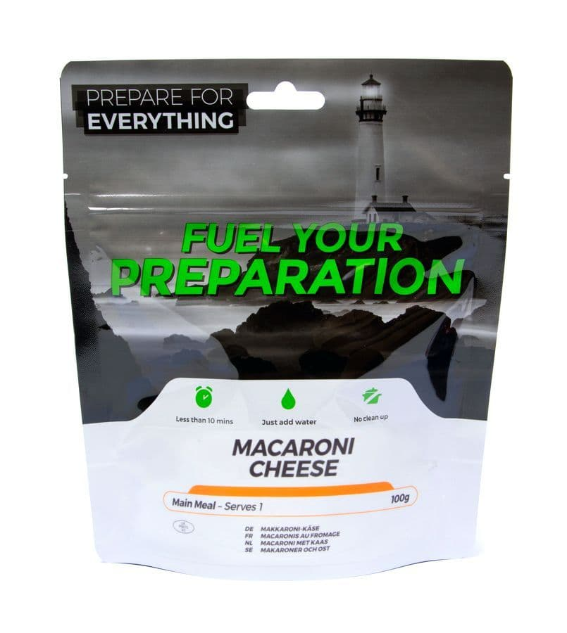 Fuel Your Preparation Freeze Dried Food Ration Meal Pouch - Macaroni Cheese