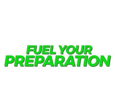 Fuel Your Preparation Rations
