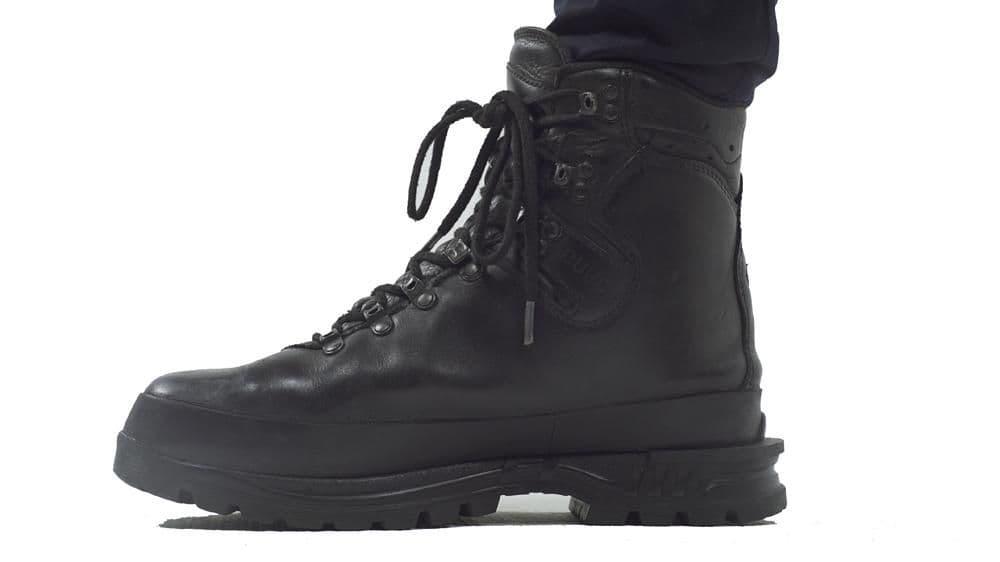 German Army Black Haix Gore Tex Boots