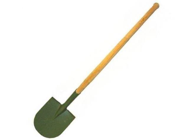 German Military Long Handed Pioneer Shovel