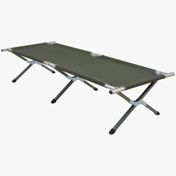 Highlander Aluminium Folding Camp Bed