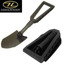 Highlander Compact Double Folding Shovel