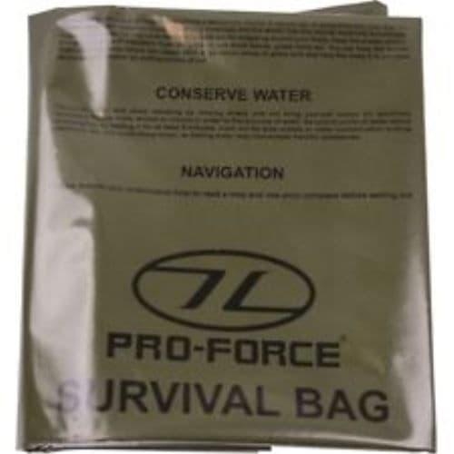 HIGHLANDER EMERGENCY SURVIVAL BAG x 10