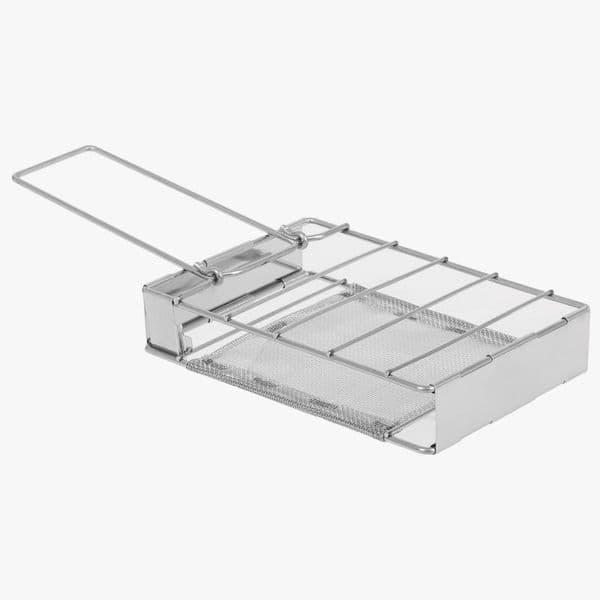 Highlander Folding Camping Grill/Toaster