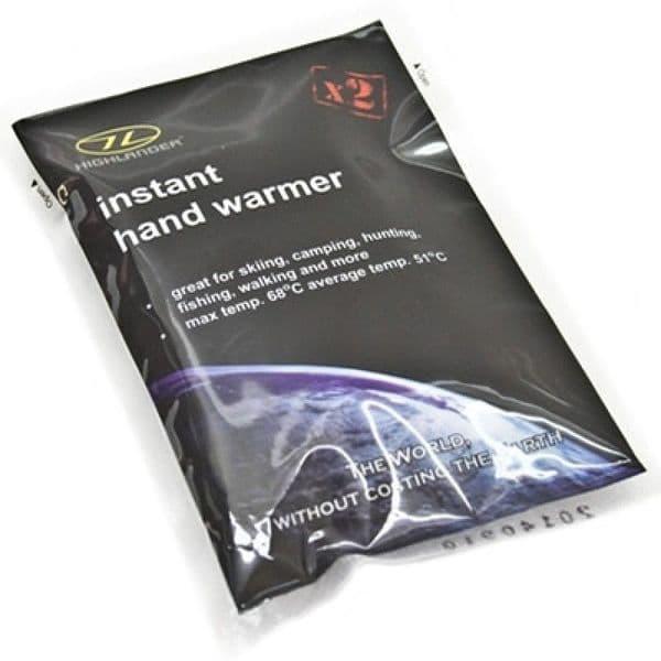 Highlander Instant Hand Warmer - 2pk