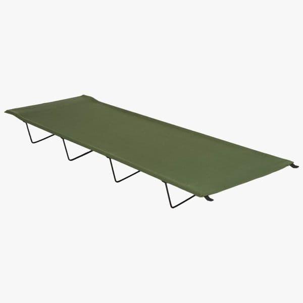 Highlander Olive Folding Camp Bed