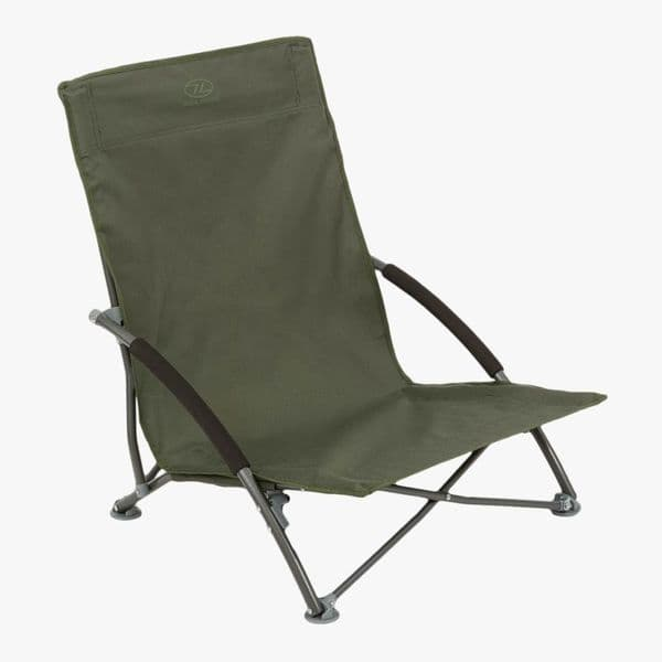 Highlander Perch Folding Camping Chair - Olive