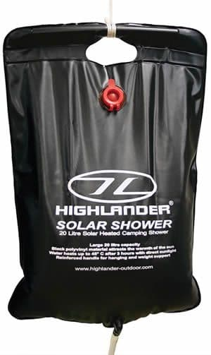 Highlander Solar Shower - 20 Litre