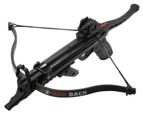 Hori-Zone 80lb Redback Pistol Crossbow - Black