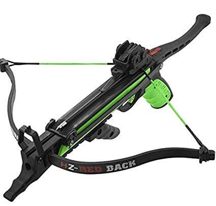 Hori-Zone 80lb Redback Pistol Crossbow - Black & Green