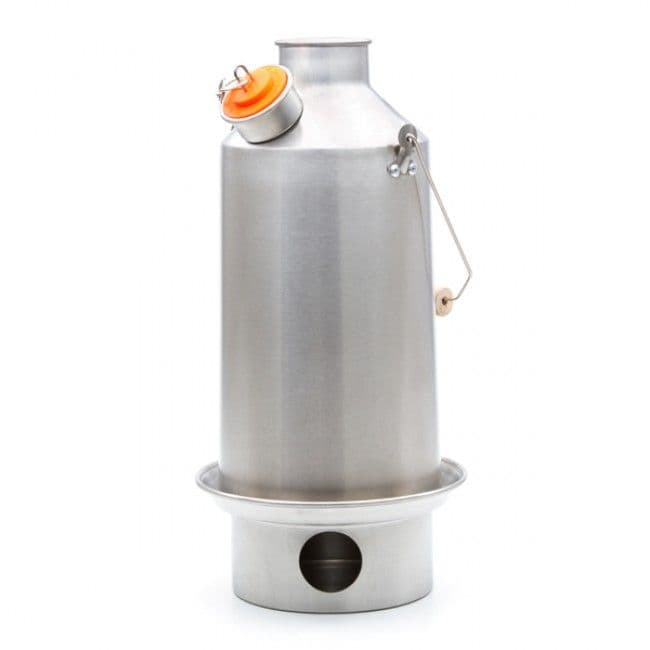 Kelly Kettle Large BASE CAMP (Stainless Steel) 1.6l