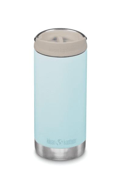 Klean Kanteen Insulated TKWide Bottle w/ Café Cap 355ml - Blue Tint