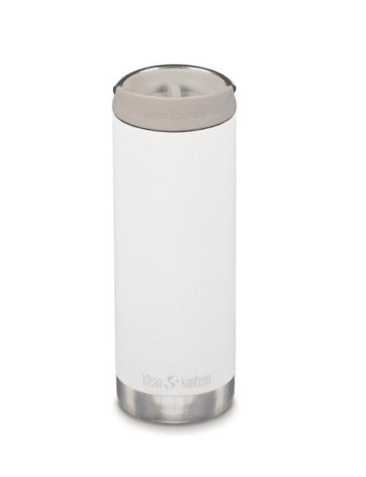 Klean Kanteen Insulated TKWide Bottle w/ Café Cap 473ml - Tofu Cream