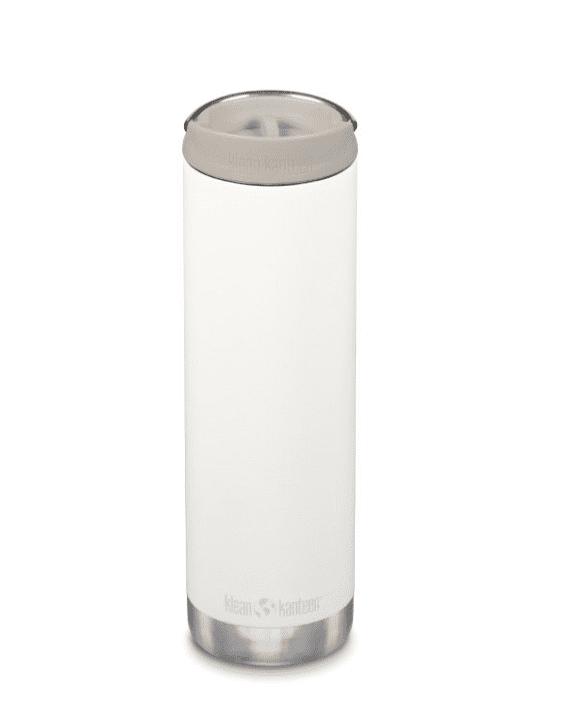 Klean Kanteen Insulated TKWide Bottle w/ Café Cap 592ml - Tofu Cream