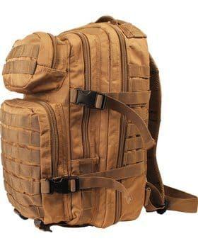 Kombat UK Assault 28 Litre Molle Bag - COYOTE