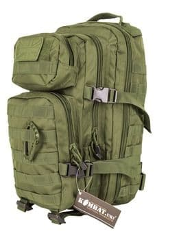 Kombat UK Assault 28 Litre Molle Bag - Olive