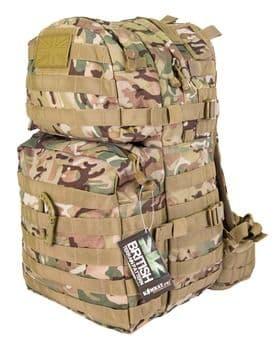 Kombat UK Assault 40 Litre Molle Bag - BTP