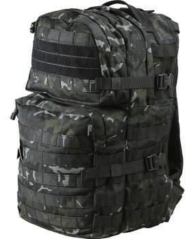 Kombat UK Assault 40 Litre Molle Bag - BTP BLACK