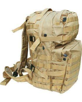 Kombat UK Assault 40 Litre Molle Bag - Coyote