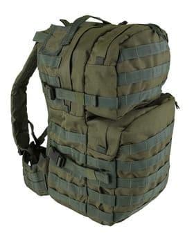 Kombat UK Assault 40 Litre Molle Bag - Olive