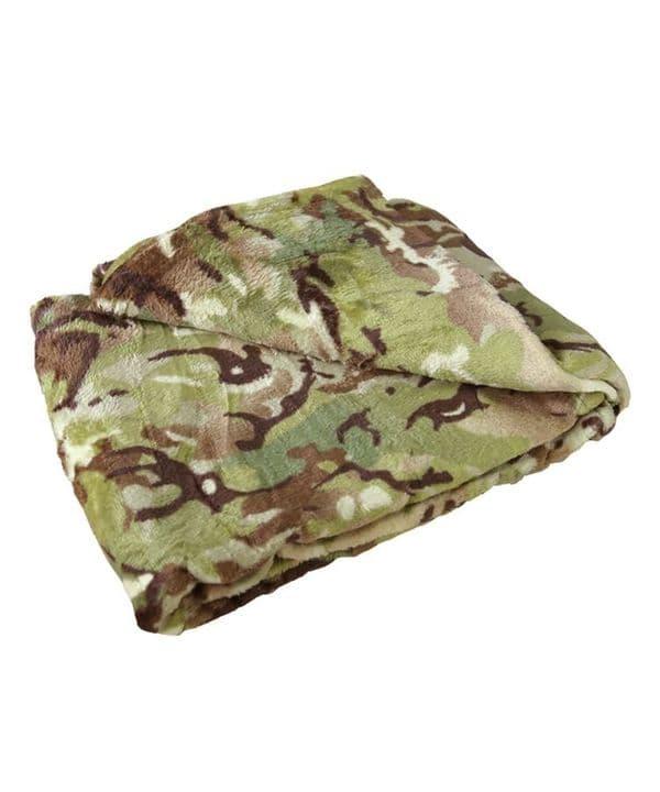 Kombat UK BTP Camo Fleece Blanket