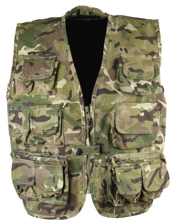 Kombat UK BTP Tactical Vest - Kids