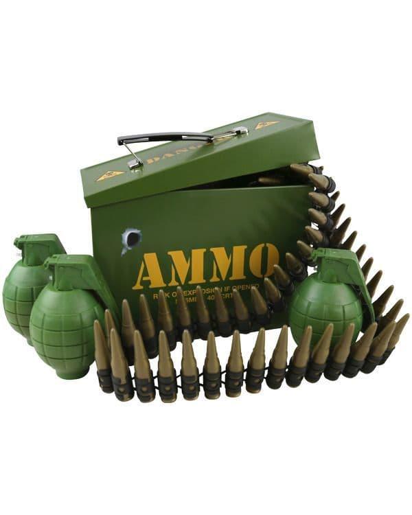 Kombat UK Grenade & Bullet Play Set