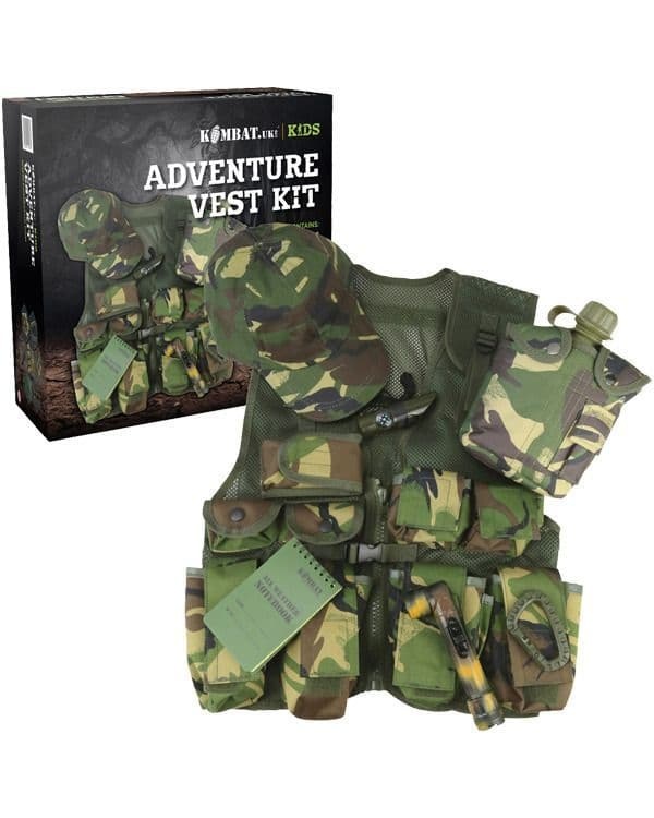 Kombat UK Kids Adventure Vest Set - DPM
