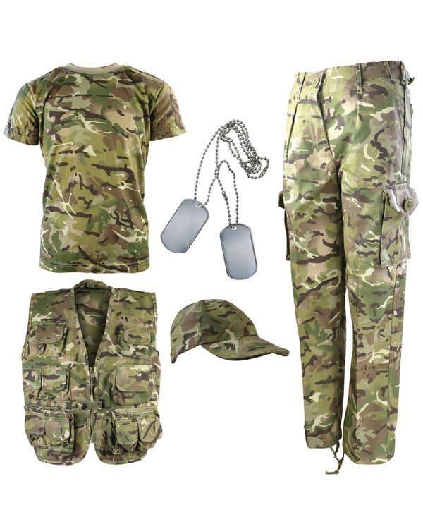 Kombat UK Kids Explorer Army Kit - BTP