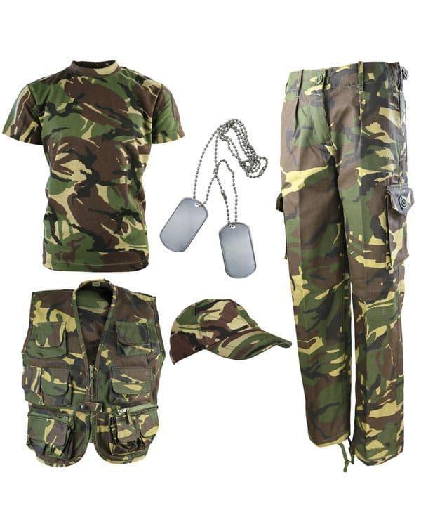 Kombat UK Kids Explorer Army Kit - DPM
