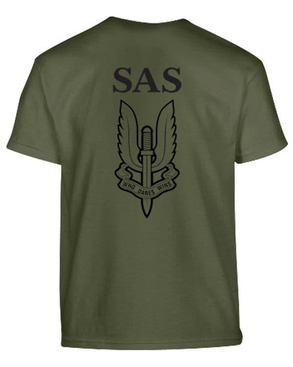 Kombat UK Kids SAS  T-Shirt