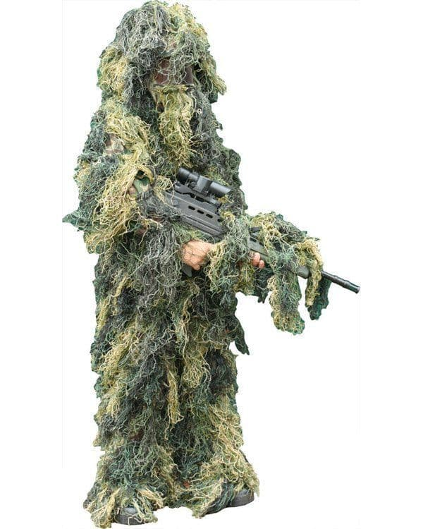Kombat UK Kids Woodland Ghillie Suit