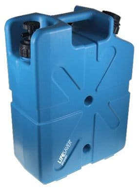 Lifesaver water purification jerry can - 10000uf