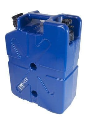 Lifesaver water purification jerry can - 20000uf