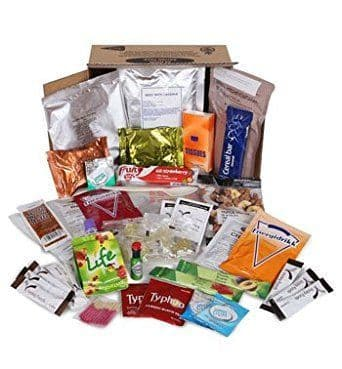 Military Style Emergency 24hr Ration Pack