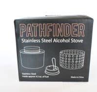 Pathfinder Alcohol Stove With Flame Regulator