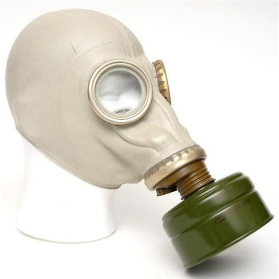 Russian Military GP-5 Gas Mask & bag