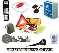Vehicle Emergency grab bag - ultimate