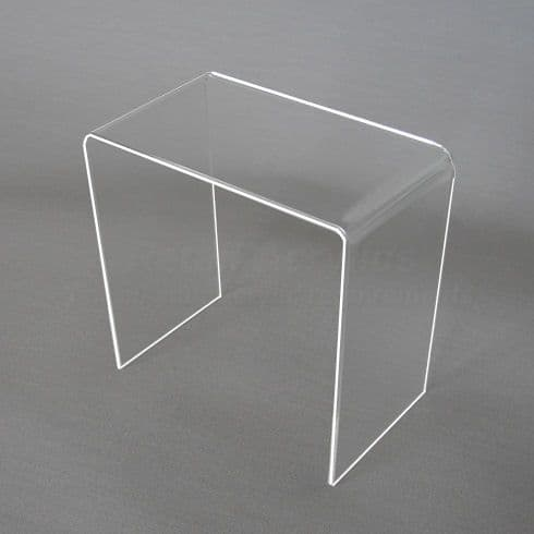 10cm  Clear Acrylic Display Riser