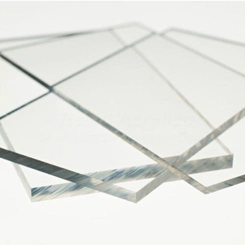 4mm Clear Acrylic Sheet A3 Size  420 x 297mm