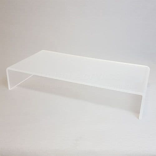 Frost Acrylic Monitor Stand  Regular