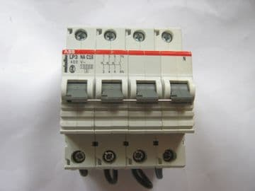 ABB SMISSLINE LP3 NA C16 16 AMP 10KA TRIPLE POLE/NEUTRAL MCB CIRCUIT BREAKER