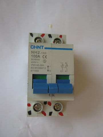 CHINT NNH2-100 100 AMP MAIN SWITCH