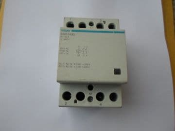 HAGER ESN 440B 40 40 AMP 4 POLE CONTACTOR