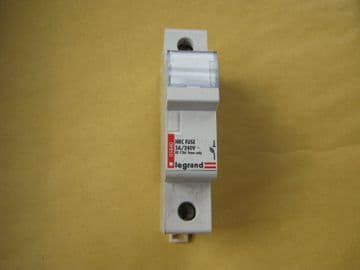 LEGRAND 5 AMP 5A HRC FUSE HOLDER (05840). BS 1361 FUSES ONLY