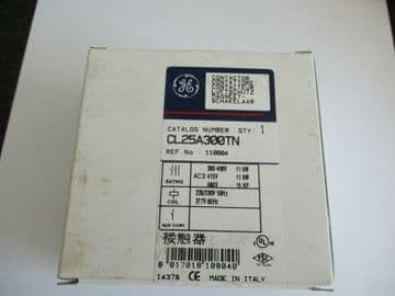 NEW GE GENERAL ELECTRIC CL25A300TN 3 POLE 25 AMP CONTACTOR