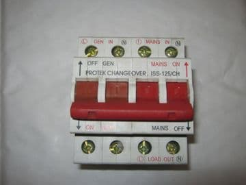 PROTEK ISS-125/CH 125 AMP MAINSWITCH. ISS125CH